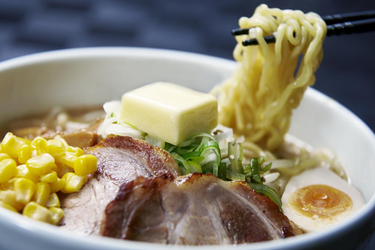 Sapporo style ramen from Hokkaido, Japan