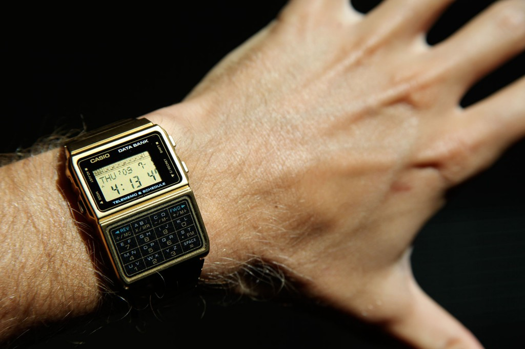 Casio Databank Cd 40 The Original Smart Watch