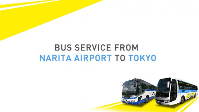 ¥1000 Bus Service from Narita to Tokyo