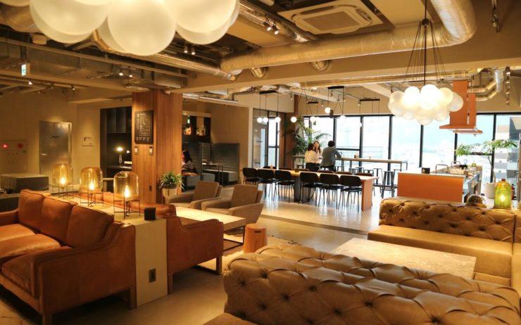 Hotel Millennials Kyoto workspace