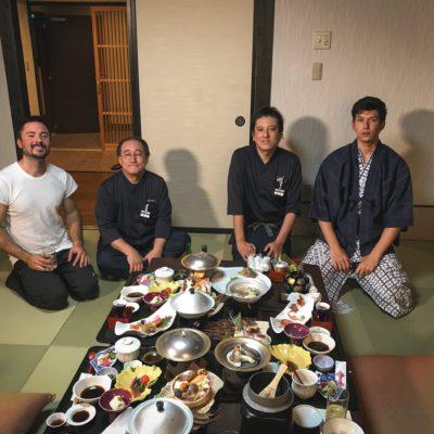 Kaiseki at Iwamatsu Ryokan Sakunami Onsen 4