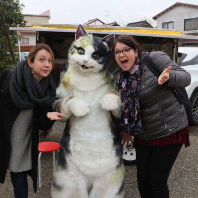 Mike the Cat in Tottori