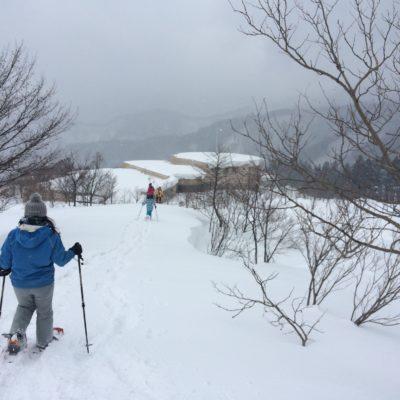 Snowshoeing in Tottori