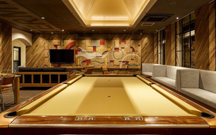 Takatsuki Terminals pool table
