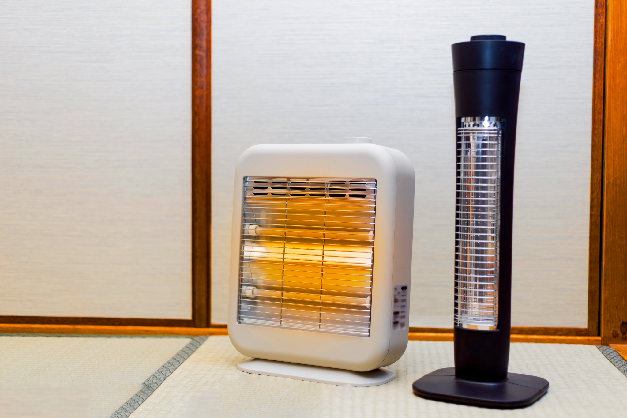 A Japanese electric heater