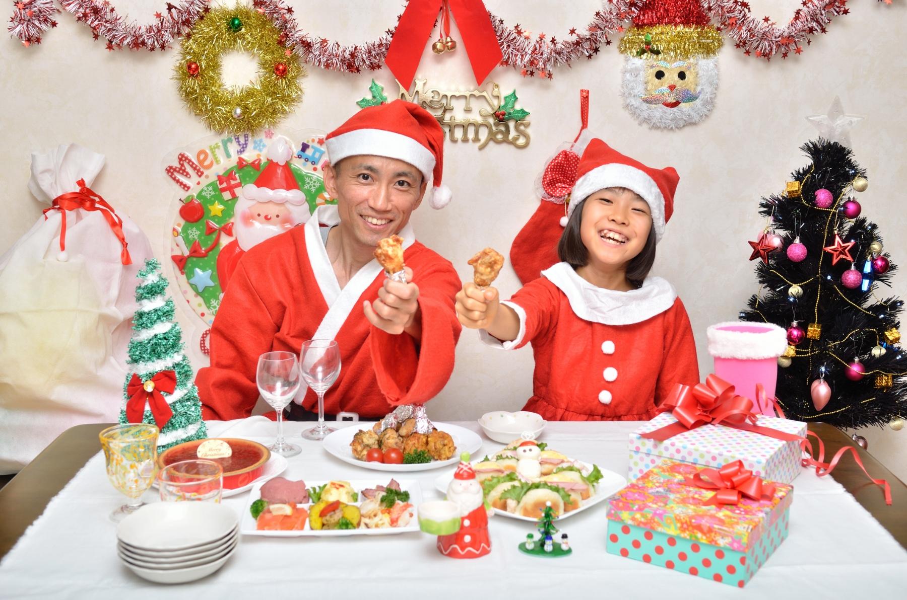 Christmas Japan Chicken Dinner