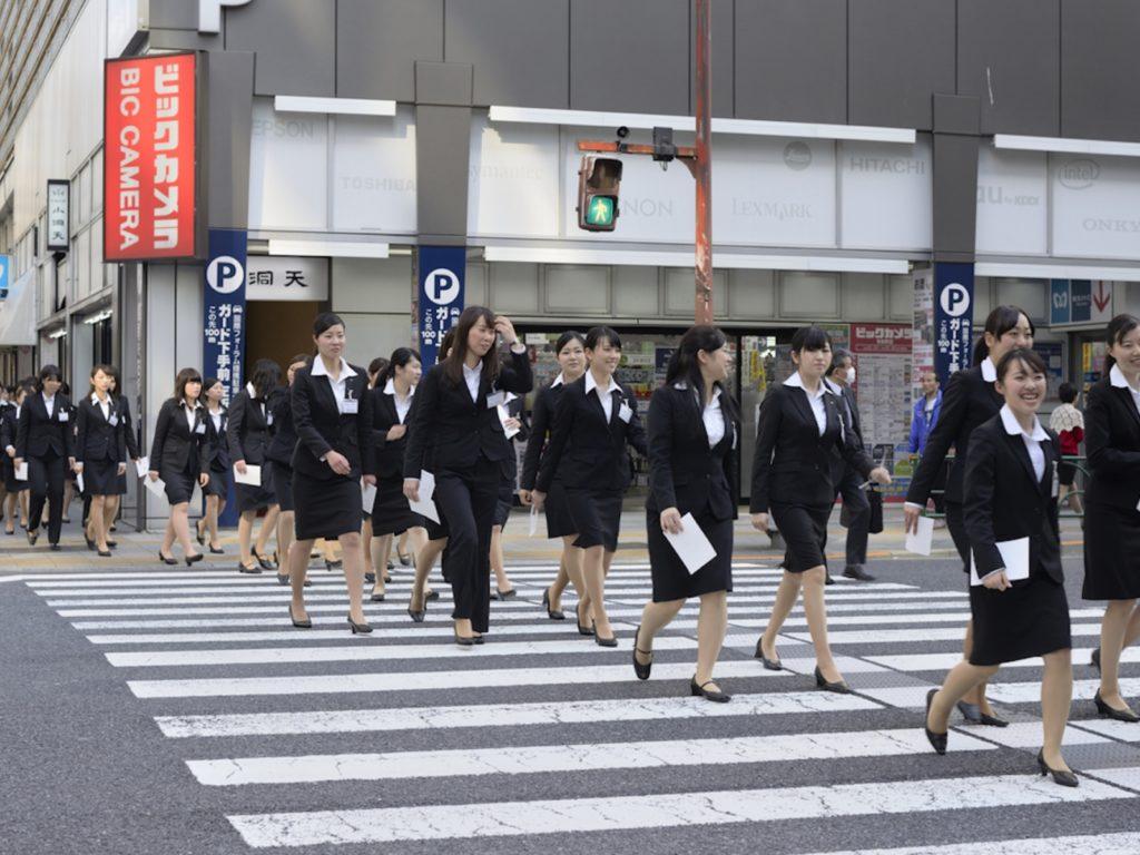 Japan job hunting process