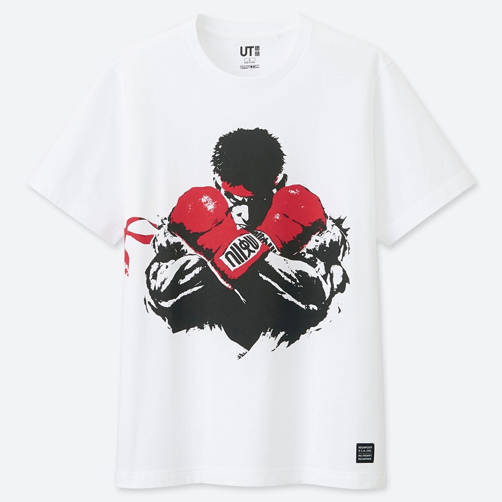 Uniqlo Street Fighter Tee 2