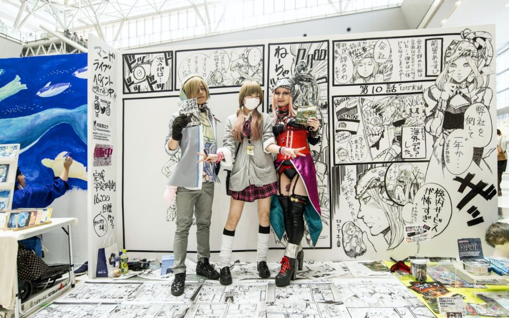 Exhibitors at Design Festa Tokyo Japan Asia's Biggest Art Event 2