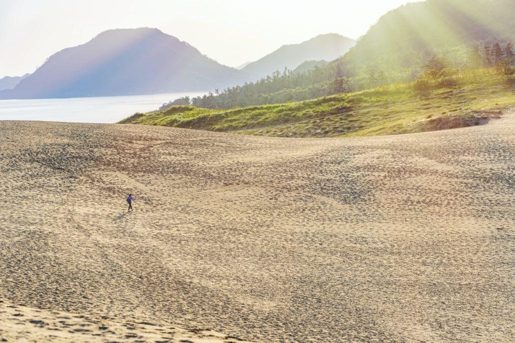 Tokyo to Tottori Sand Dunes Lead