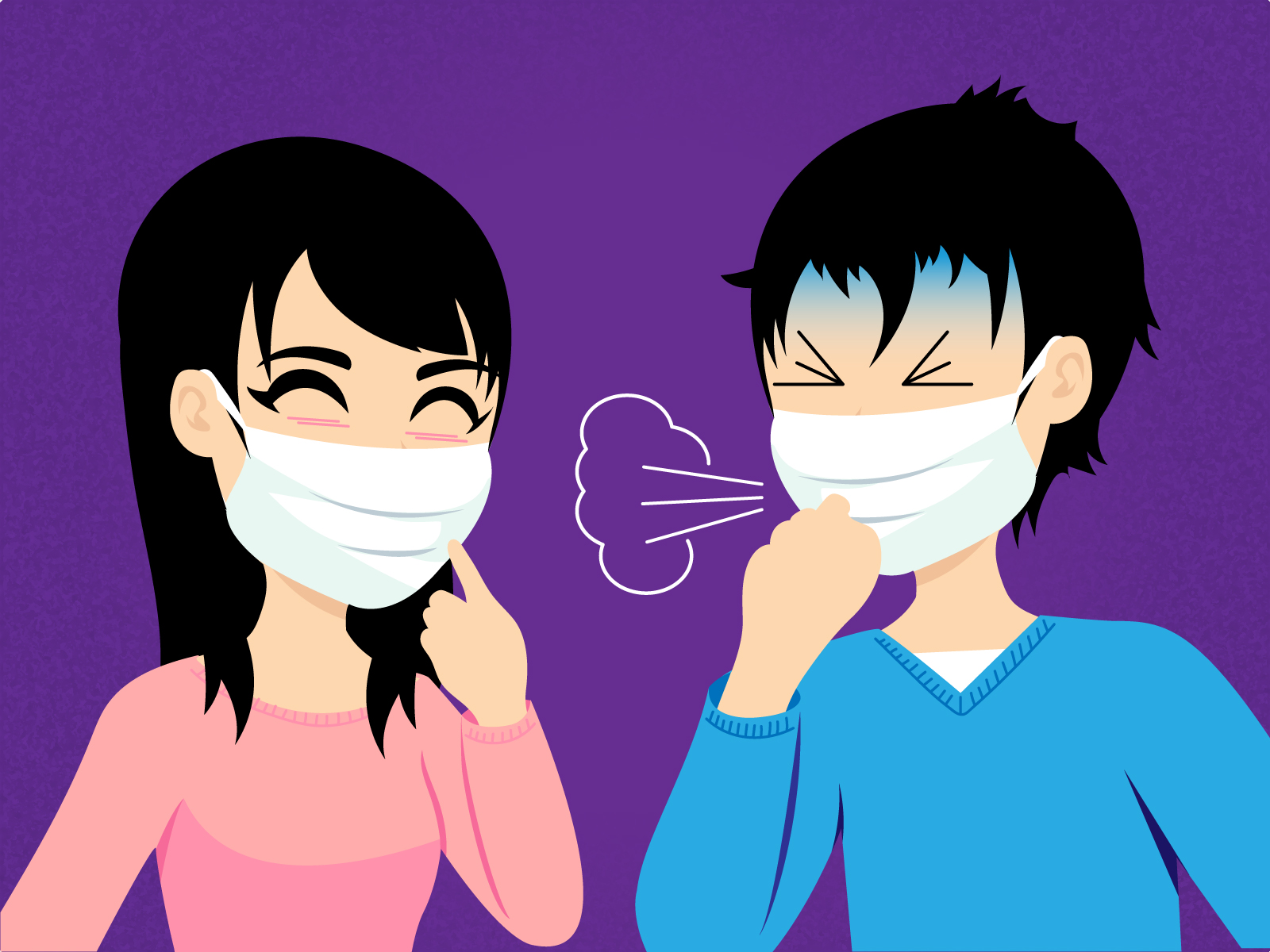 disposable face masks for germs from japan
