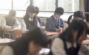 Forcible Hair Dyeing Japanese School