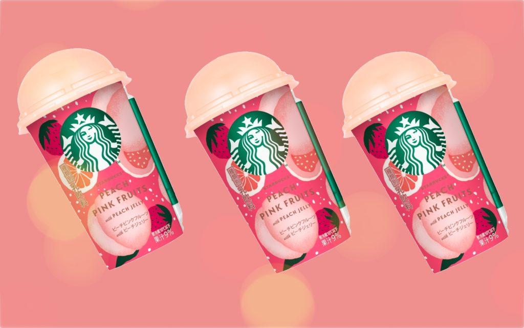 Starbucks Peach Pink Fruit Frappuccino Summer 2019