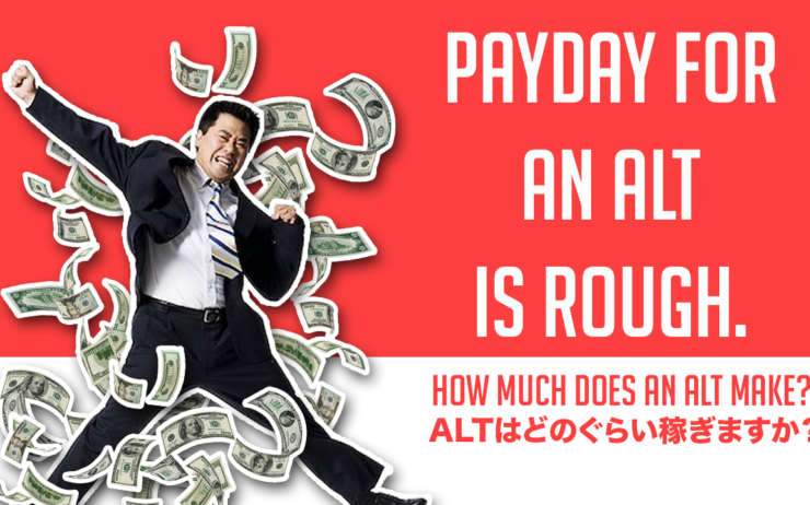 What's Payday like for an English Teacher in Japan?