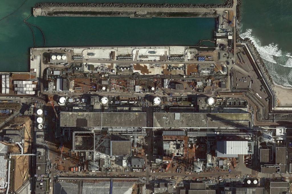 Fukushima Daiichi area view (RF.. google earth)