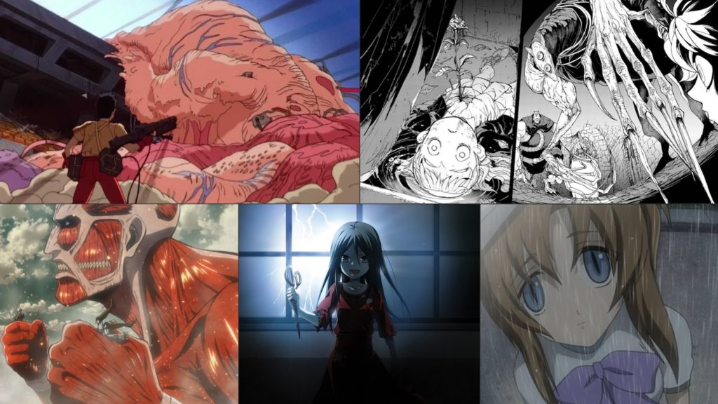 5 Spine-Chillingly Scary Japanese Anime Characters