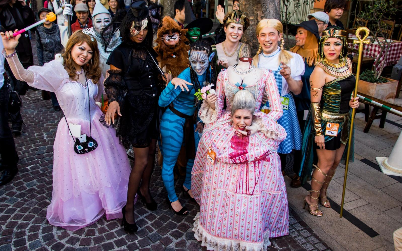 Beginilah Keseruan Perayaan Helloween Di Jepang Beserta Kostum-Kostumnya Yang Imut