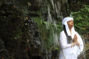 Yamabushi Waterfall Meditation in Yamagata Japan