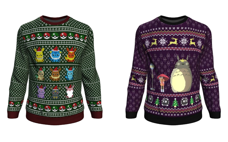 7 of 2019's Best Geeky Gifts for the Otaku in Your Life Ugly Anime Jumpers