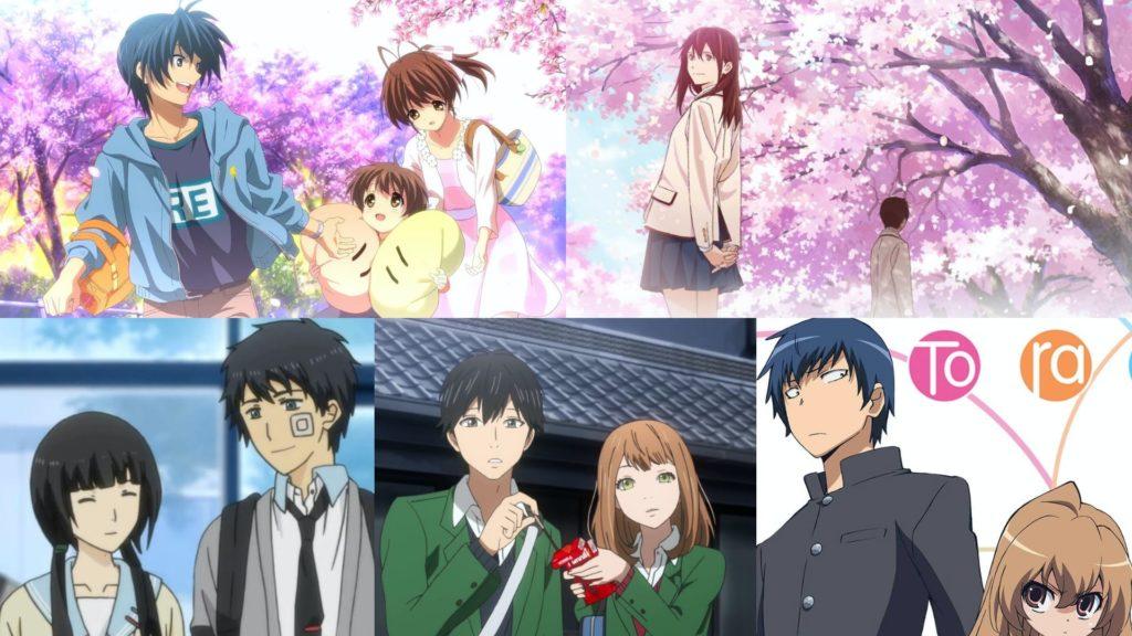 Top 5 High School Romance Anime