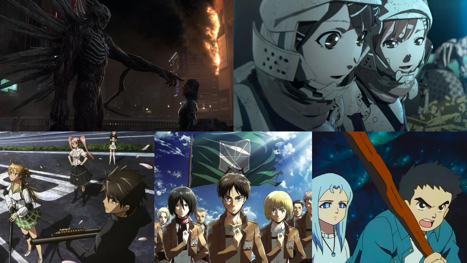 Top 10 Post Apocalyptic Anime to Watch While Social Distancing