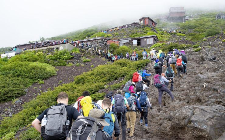 Mount Fuji in Yamanashi Japan