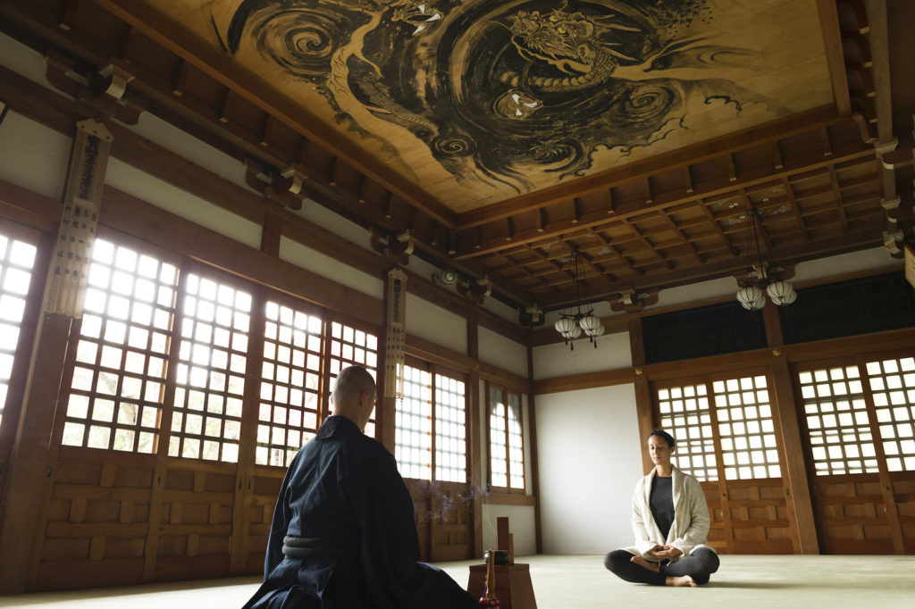 Practice Zazen Meditation in Japan