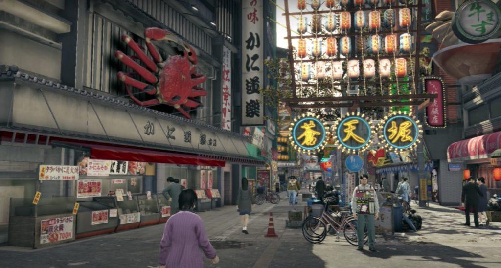 Yakuza Video Game Locations in Real Life - Dotonbori