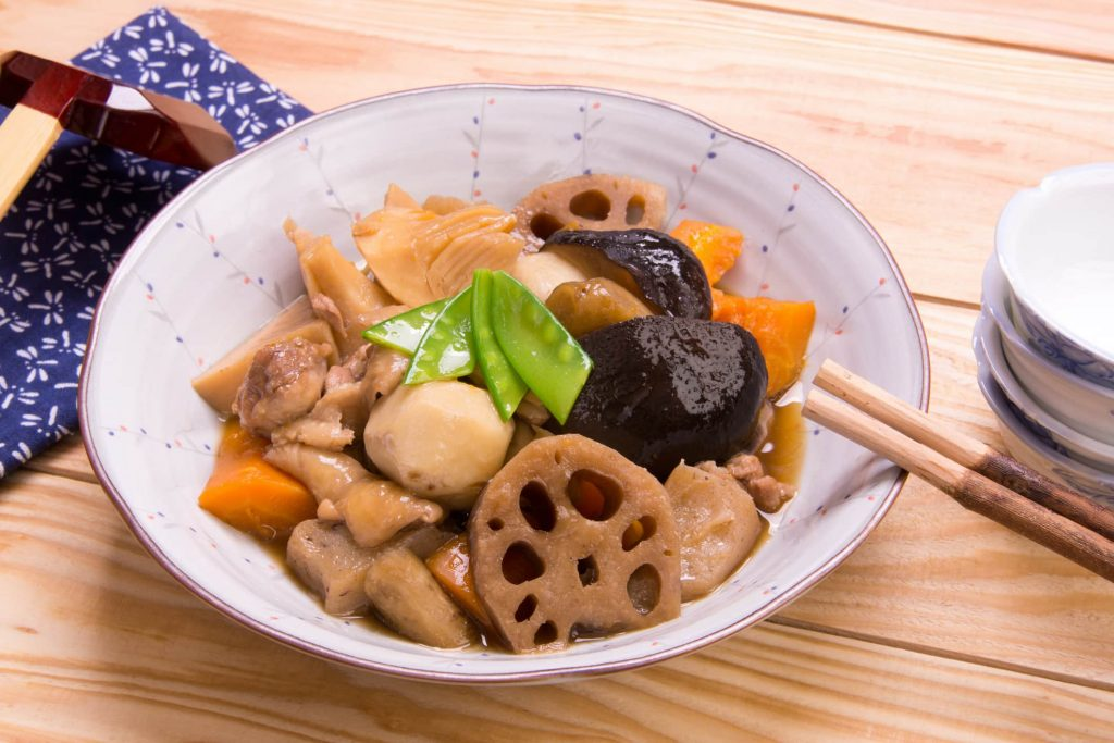 Japanese Recipe Adventures: Stewed Chicken and Lotus Root