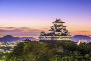 Himeji Castle in Hyogo Prefecture