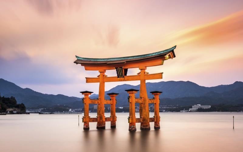 Miyajima Gate in Japan
