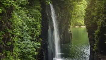 Takachiho gorge in Miyazaki Prefecture