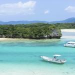 Ishigaki island lagoon in Okinawa Prefecture, Japan