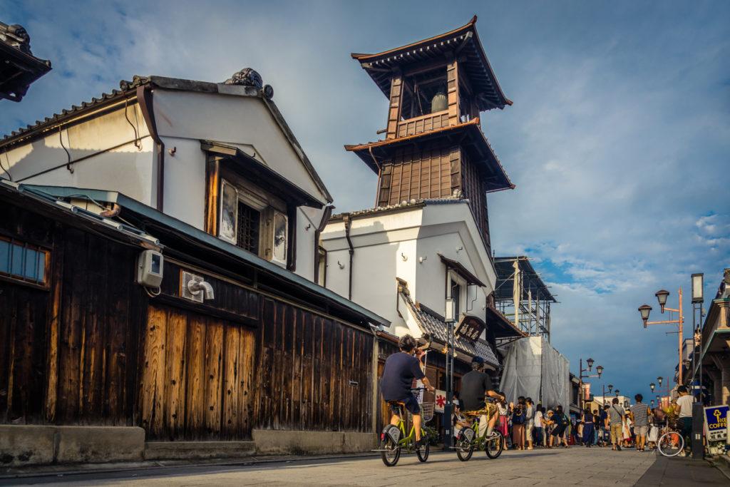 Kawagoe old town in Saitama.