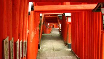 Taikodani Inari Shrine in Shimane, Japan