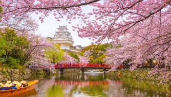 Himeji Castle in Hyogo, Japan.