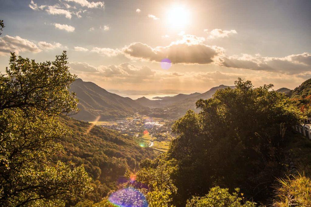 Kagawa Shikoku Kankakei Gorge Shodoshima