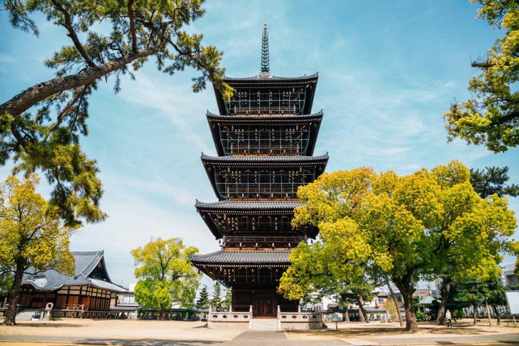 Kagawa shikoku Zentsu-ji temple