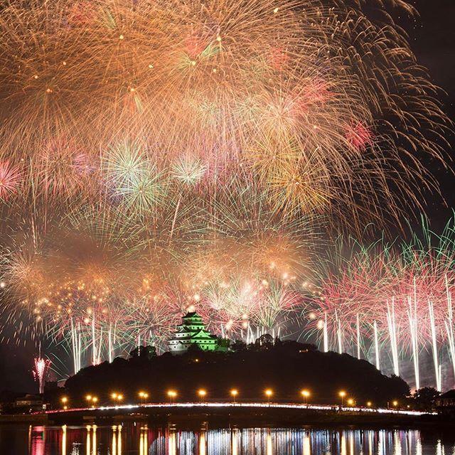 Karatsu Castle Fireworks Saga Prefecture