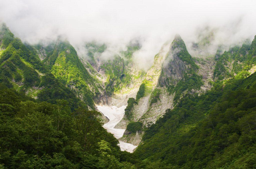 Mount Tanigawadake in Gunma, Japan