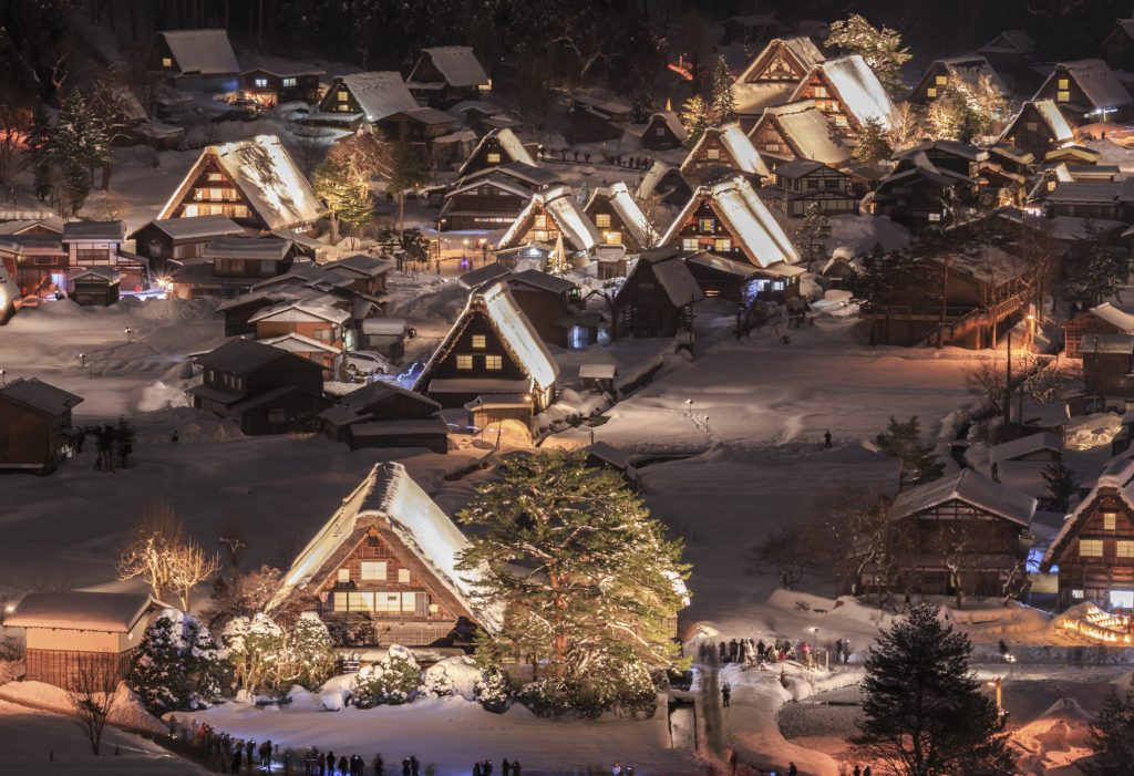 Shirakawa-go Gifu Prefecture, Japan