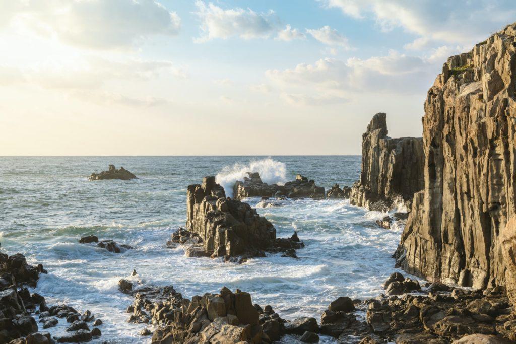 Tojinbo Cliffs Fukui