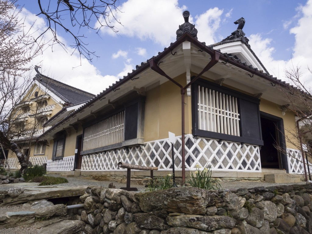 Walk among traditional merchant houses in historic Uchiko in Ehime prefecture.