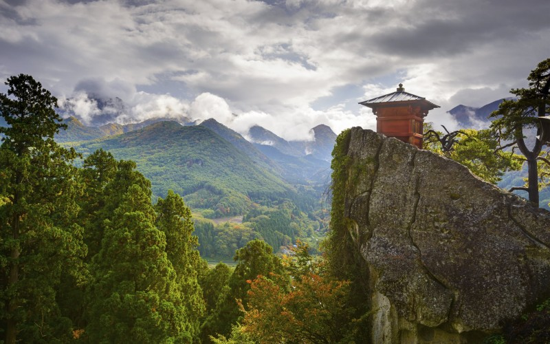 Find poetic inspiration at Yamadera Mountain Temple in Yamagata