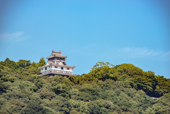 Iwakuni Castle in Yamaguchi Japan