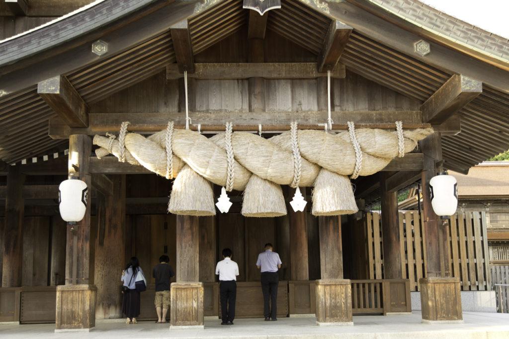 Izumo Taisha Shrine in Shimane, Japan