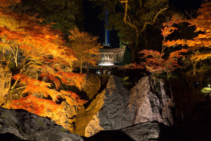Ishiyama-dera Temple in Japan