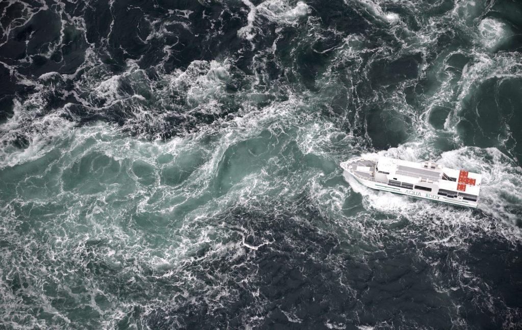 Tokushima Naruto Straits whirlpools.