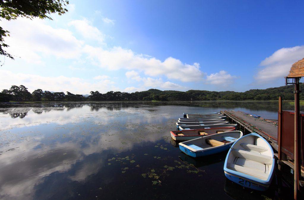 River Scene Shirakawa (Fukushima)
