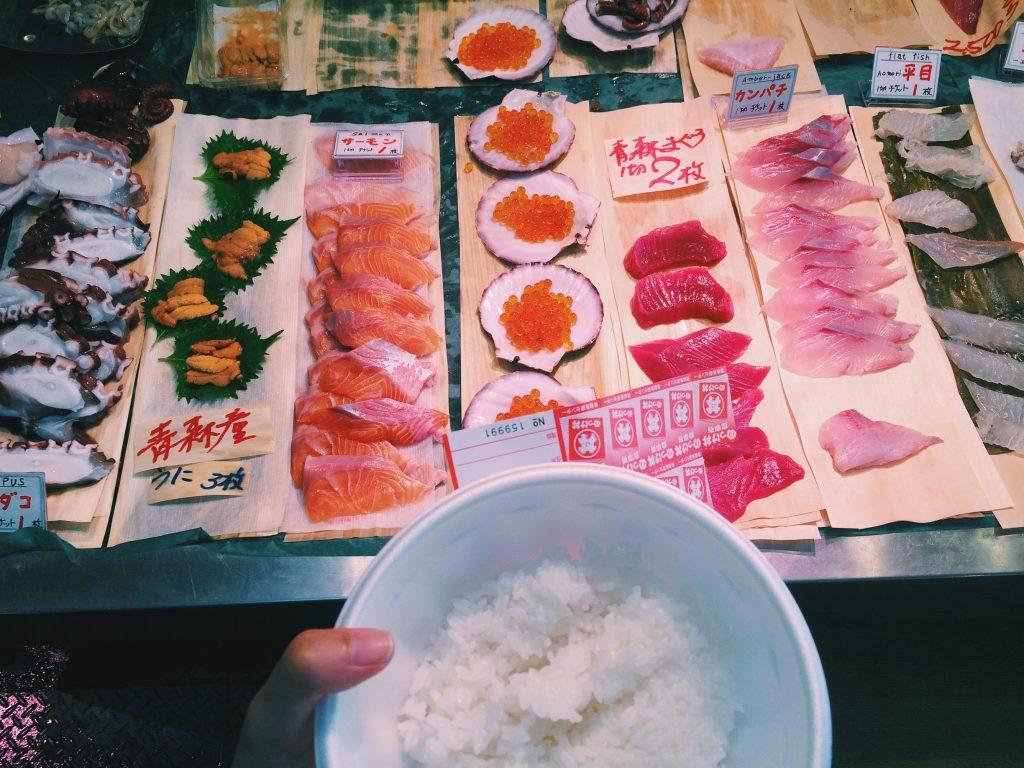 Furukawa Fish Market in Aomori city